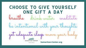 Choose to give yourself a gift