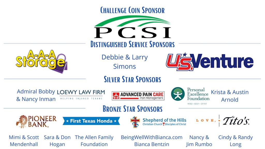 Presented by Challenge Coin Sponsor PCSI