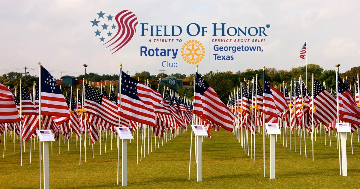Field of Honor Georgetown Rotary