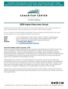 2020 Impact Recovery Group