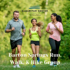 Barton Springs Run Walk Hike Group